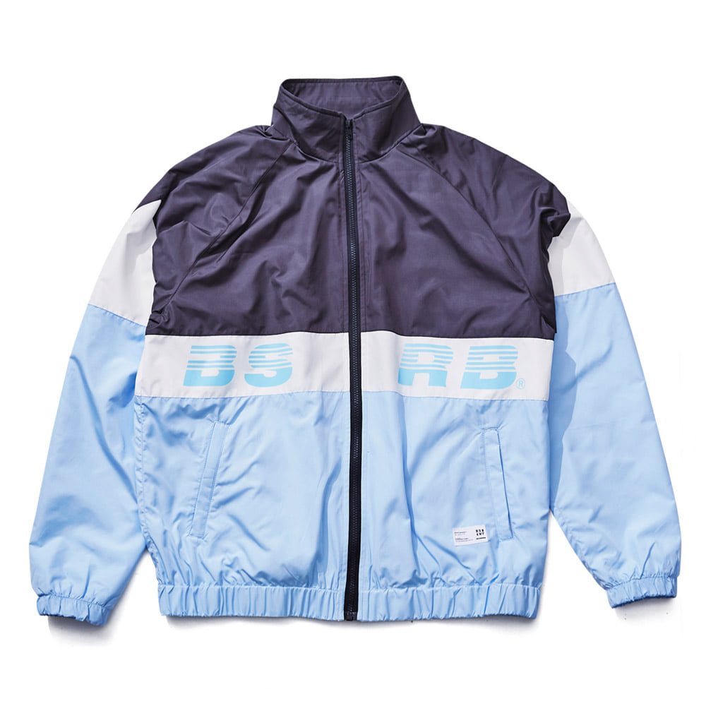 비에스래빗BSRABBIT 1819 BSRB TRACK JACKET SKYBLUE