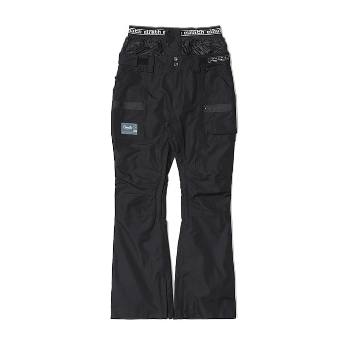 엘나스ELNATH 1819 MAJOR SLIM PANTS BLACK