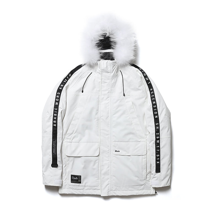 엘나스ELNATH 1819 AURI DUCKDOWN JACKET WHITE