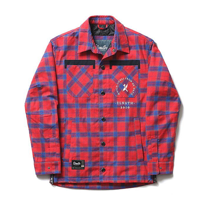 엘나스ELNATH 1819 TR-S SHIRTS PLAID
