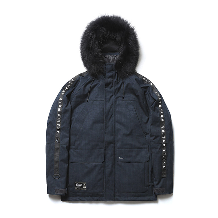 엘나스ELNATH 1819 AURI DUCKDOWN JACKET NAVY