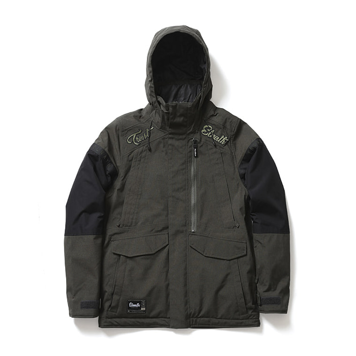 엘나스ELNATH 1819 CRAVE FIELD JACKET ROSIN