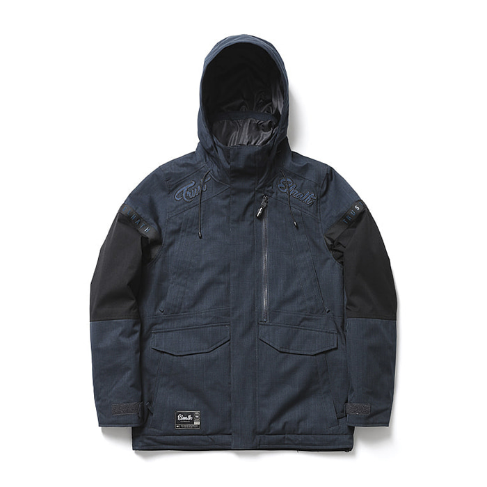 엘나스ELNATH 1819 CRAVE FIELD JACKET MIDNIGHT