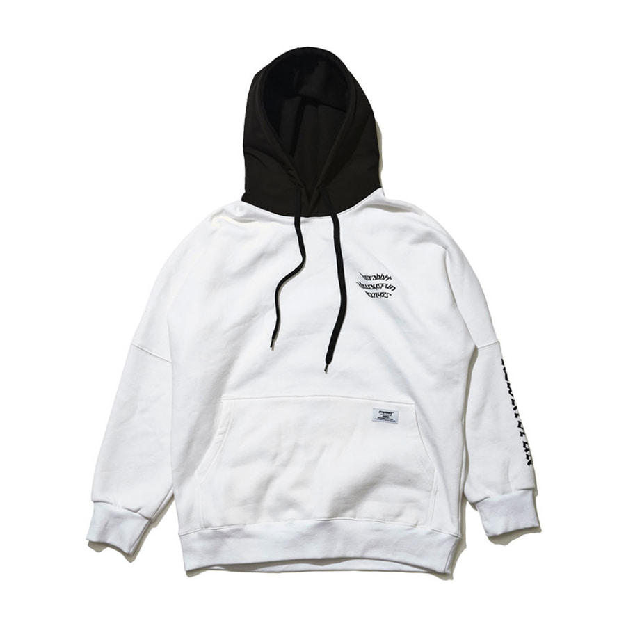 비에스래빗BSRABBIT 1920 WELCOME WATERPROOF HOODIE WHITE