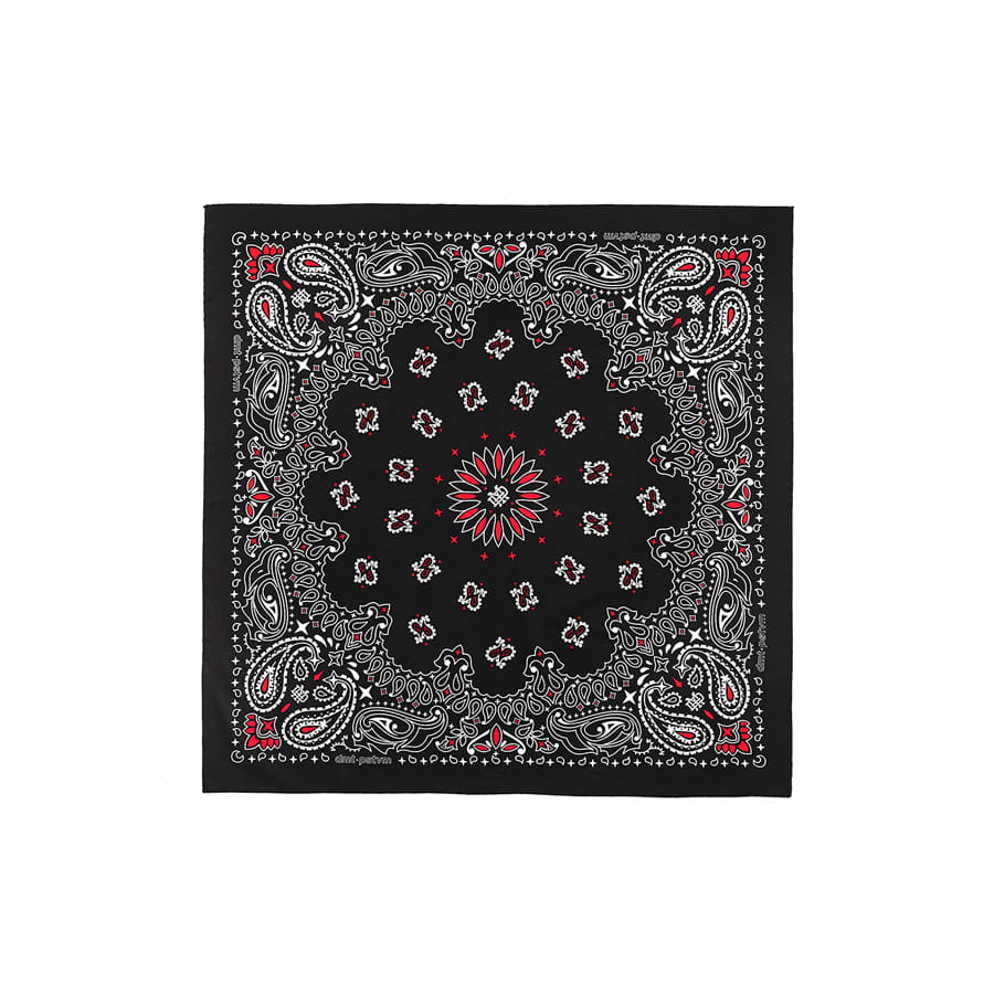 디미토DIMITO 1920 DMT LTD BANDANA BLACK