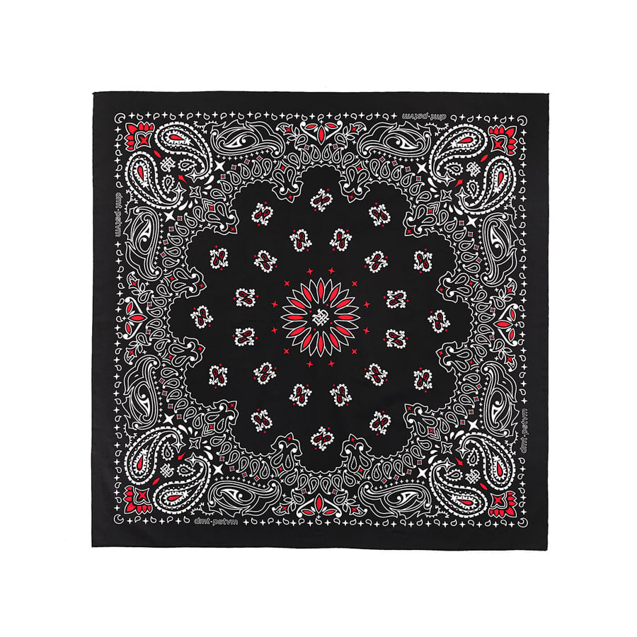 디미토DIMITO 1920 DMT LTD BIG BANDANA BLACK