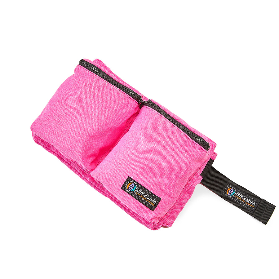 디미토DIMITO 1920 DOUBLE POCKET WAIST BAG PINK