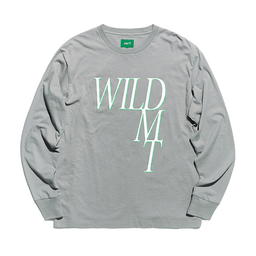 디미토DIMITO 1920 WILD LONG SLEEVE GREY