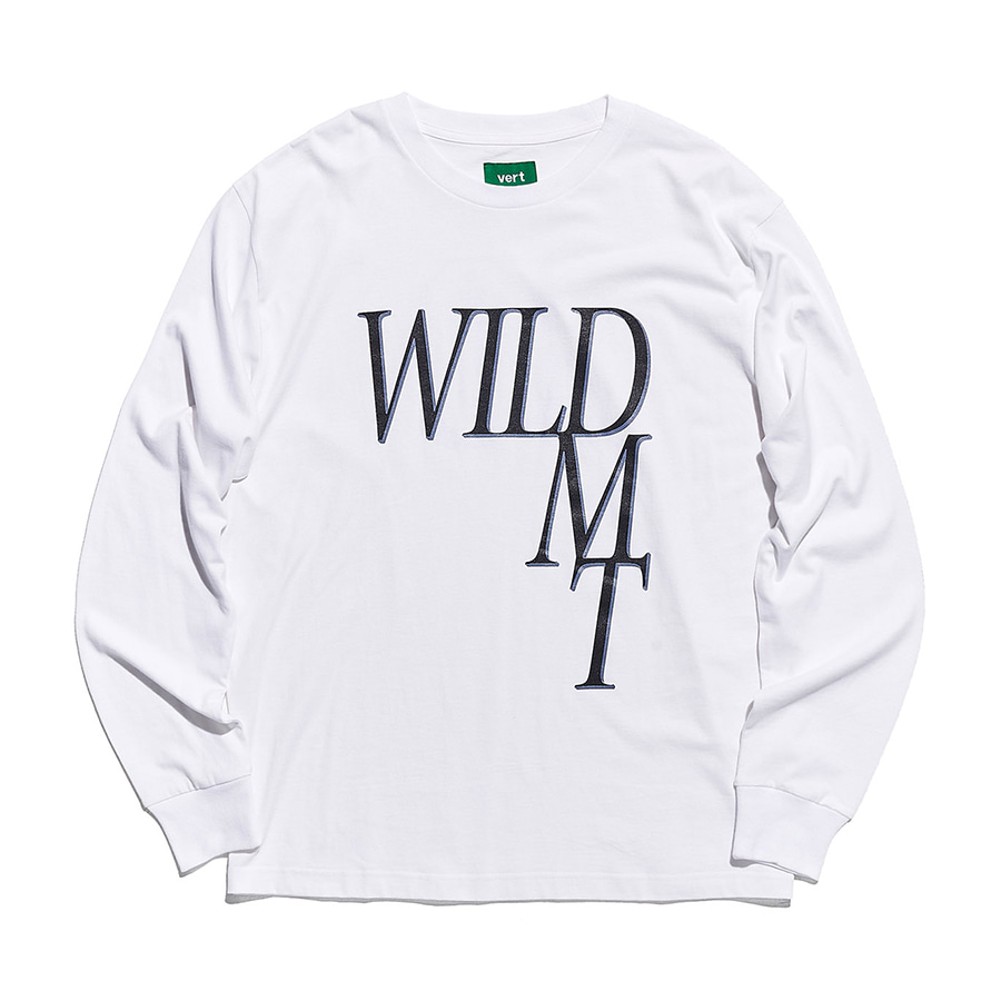 디미토DIMITO 1920 WILD LONG SLEEVE WHITE