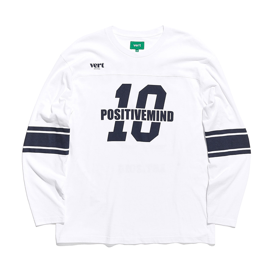 디미토DIMITO 1920 10th LONG SLEEVE WHITE