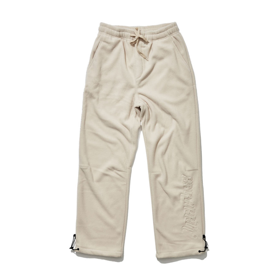 비에스래빗BSRABBIT 1920 BSR FLEECE TRACK PANTS BEIGE