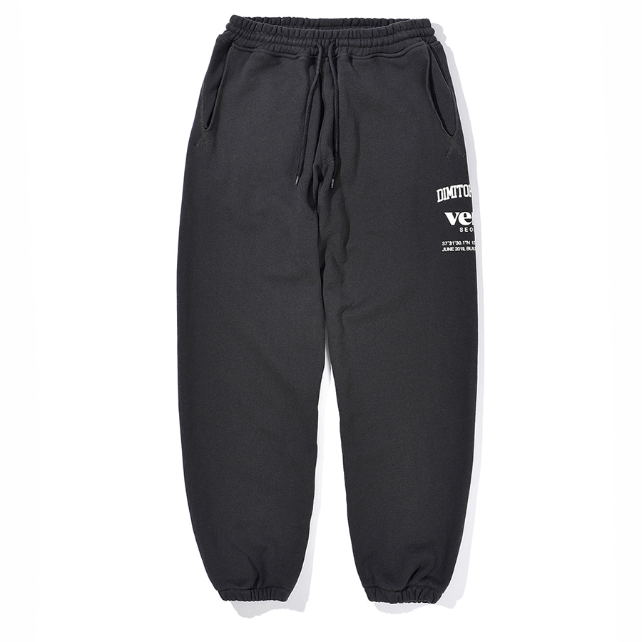 디미토DIMITO 2021 SE SWEAT PANTS CHARCOAL
