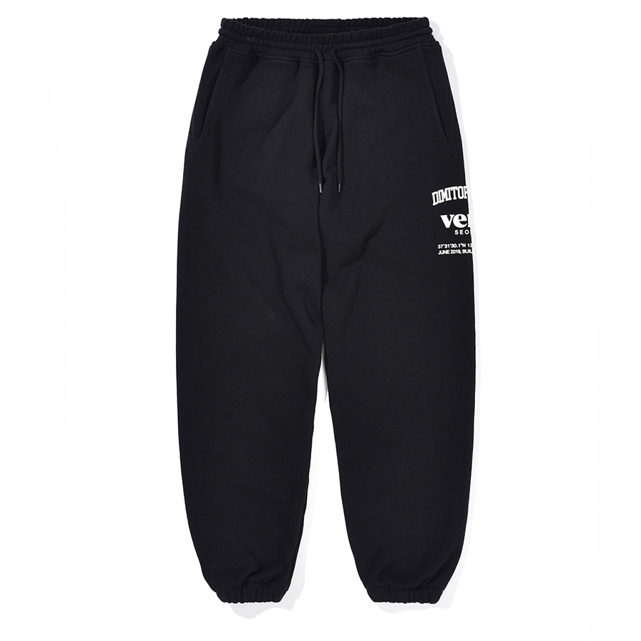 디미토DIMITO 2021 SE SWEAT PANTS BLACK