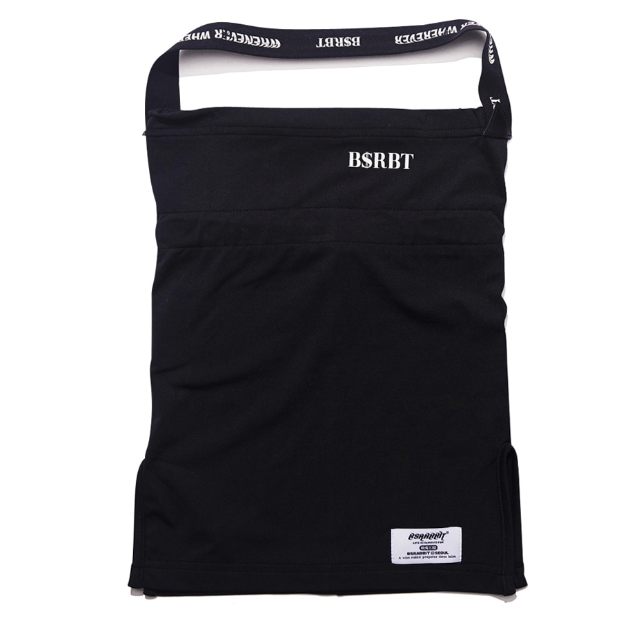 비에스래빗BSRABBIT 2021 BSRBT V-LINE BAND INNER POCKET LOGO BALACLAVA [BLACK BAND] No.1