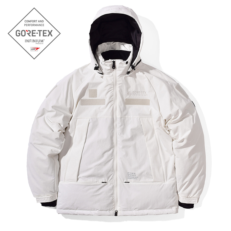 디미토DIMITO 2021 GTX MONSTER DOWN (DIMITO X MILLET) JACKET WHITE